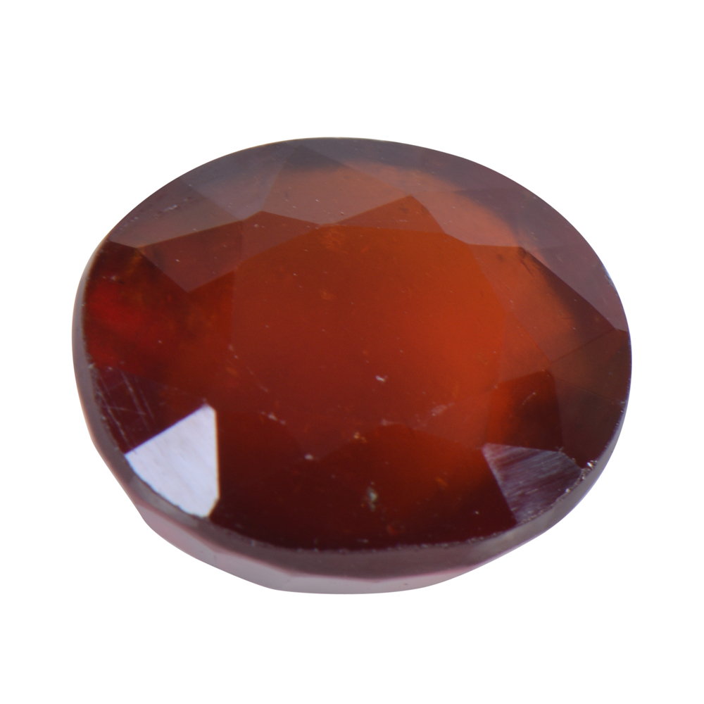 9.04 Ct Certified Natural Hessonite Garnet (Gomed) Loose Gemstone