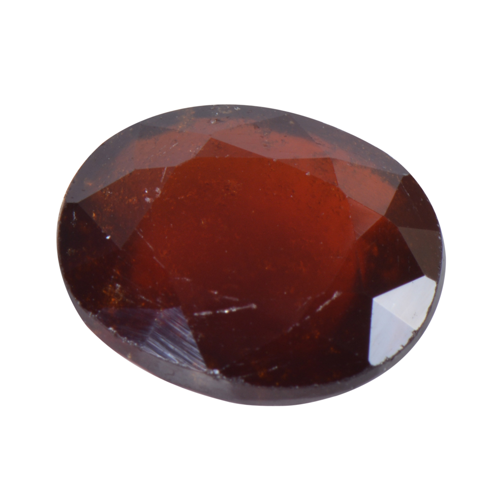 7.94 Ct Certified Natural Hessonite Garnet (Gomed) Loose Gemstone