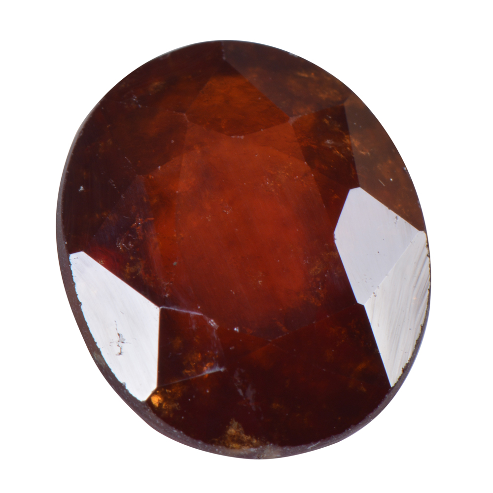 9.37 Ct Certified Natural Hessonite Garnet (Gomed) Loose Gemstone