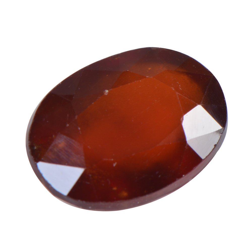 9.08 Ct Certified Natural Hessonite Garnet (Gomed) Loose Gemstone