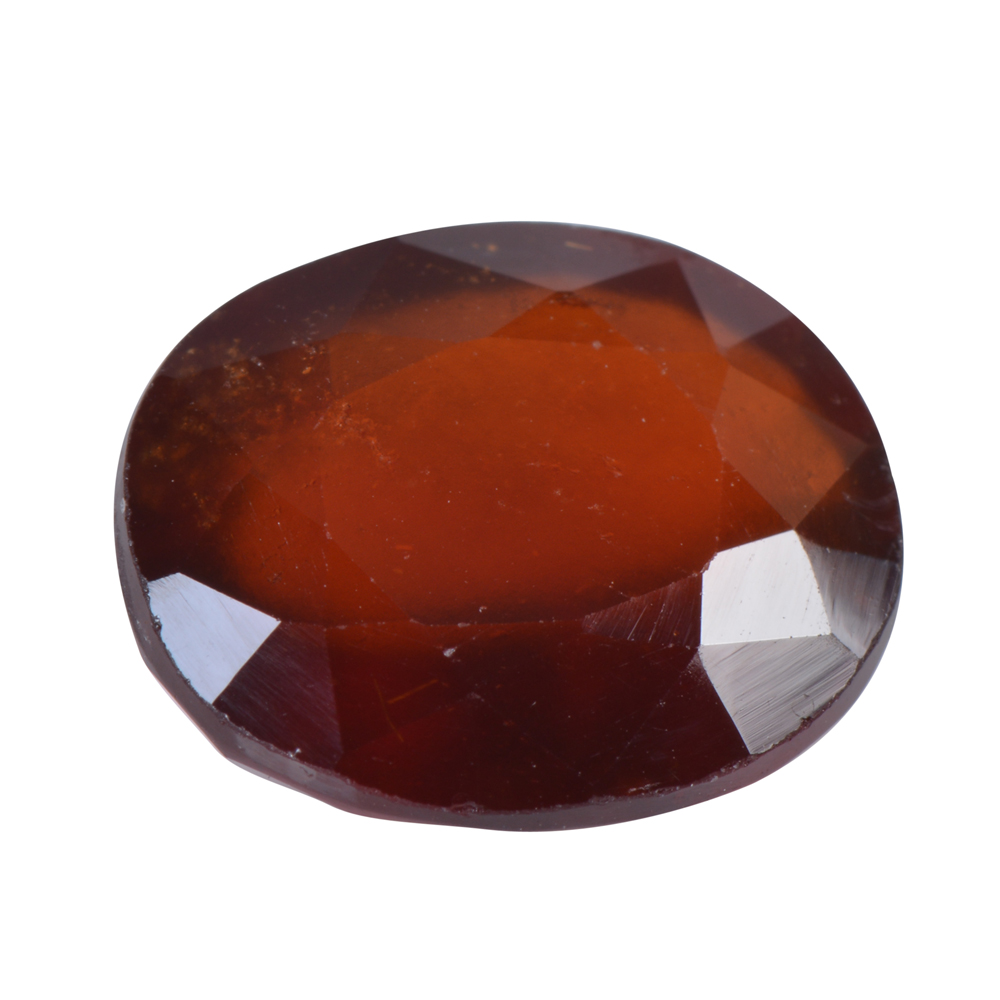 8.8 Ct Certified Natural Hessonite Garnet (Gomed) Loose Gemstone
