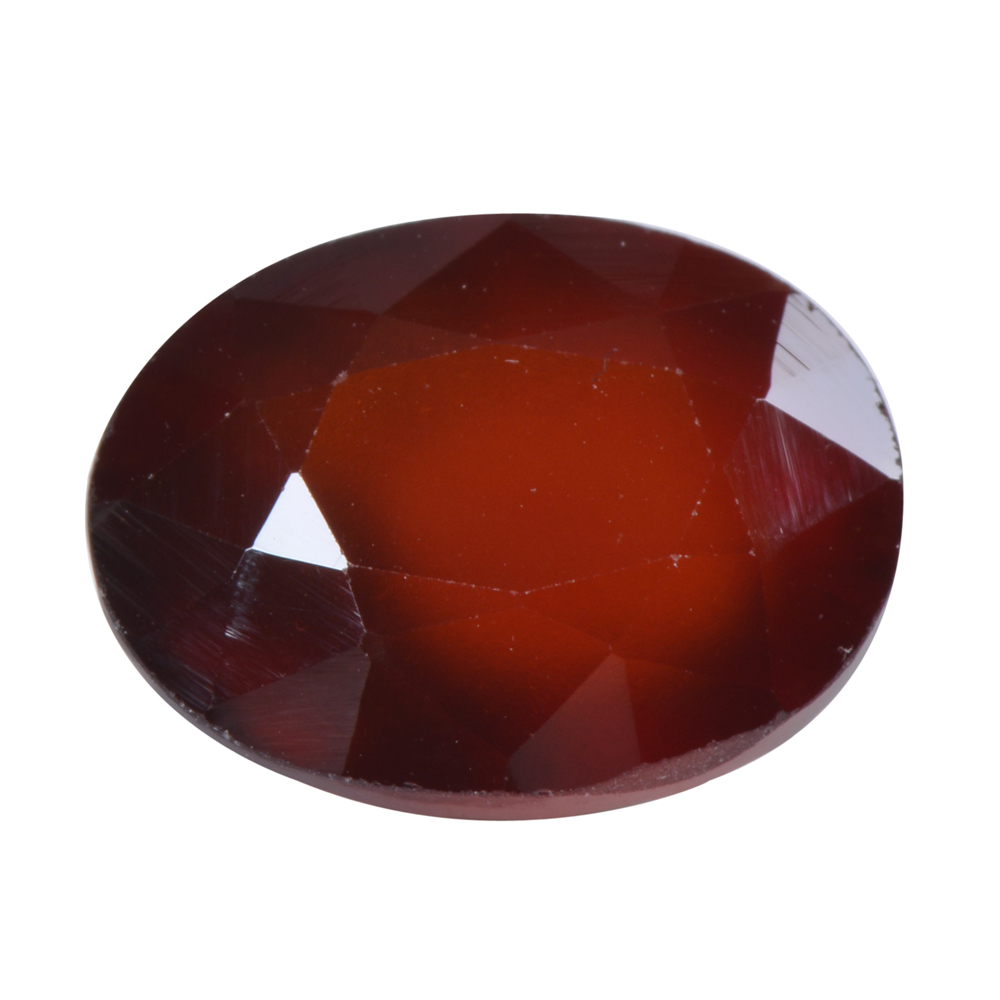 9.77 Ct Certified Natural Hessonite Garnet (Gomed) Loose Gemstone