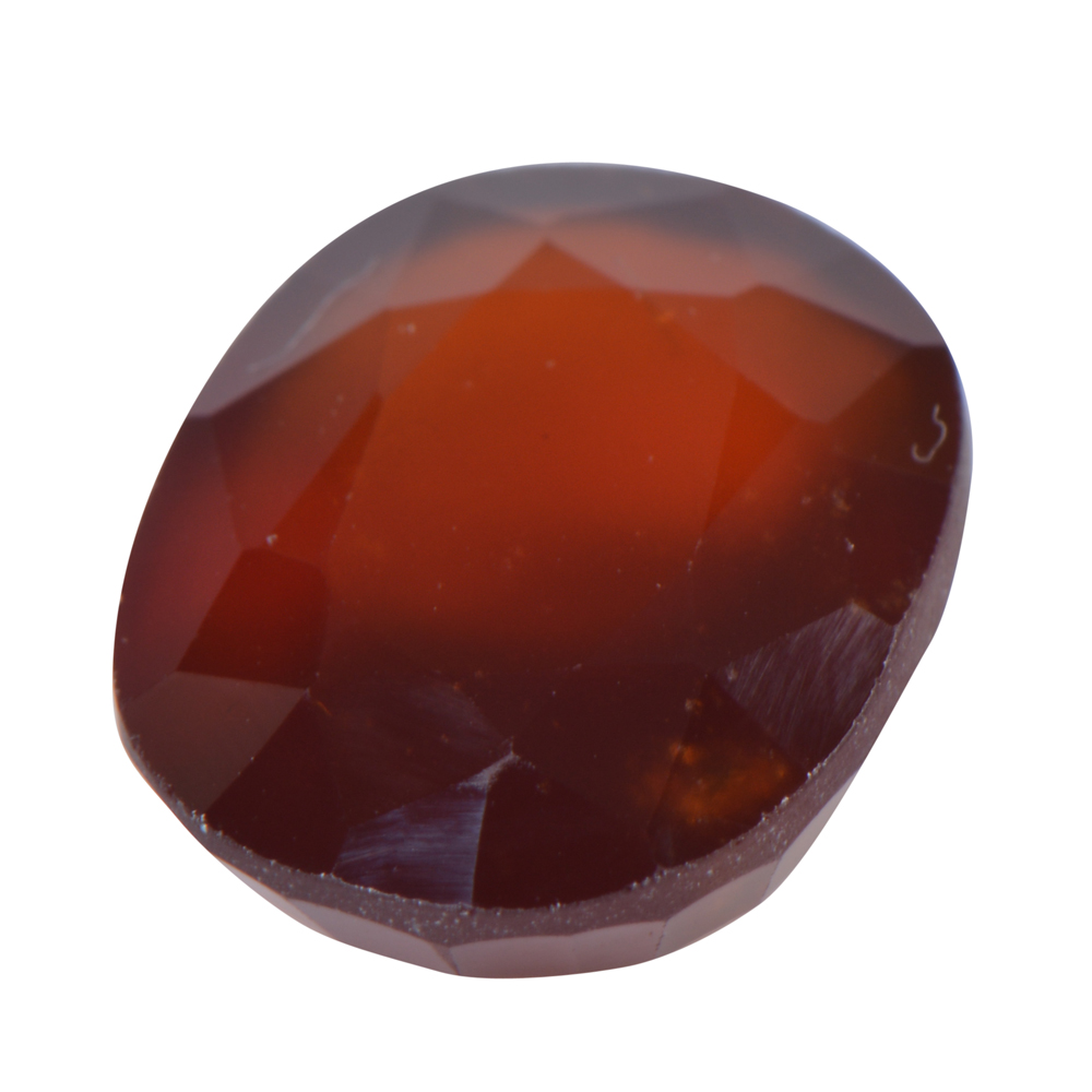 8.53 Ct Certified Natural Hessonite Garnet (Gomed) Loose Gemstone