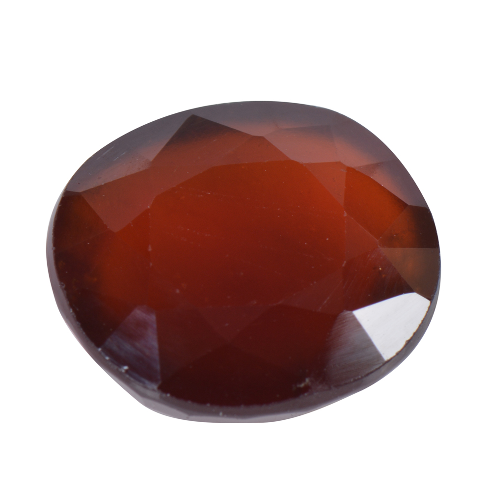 10.07 Ct Certified Natural Hessonite Garnet (Gomed) Loose Gemstone