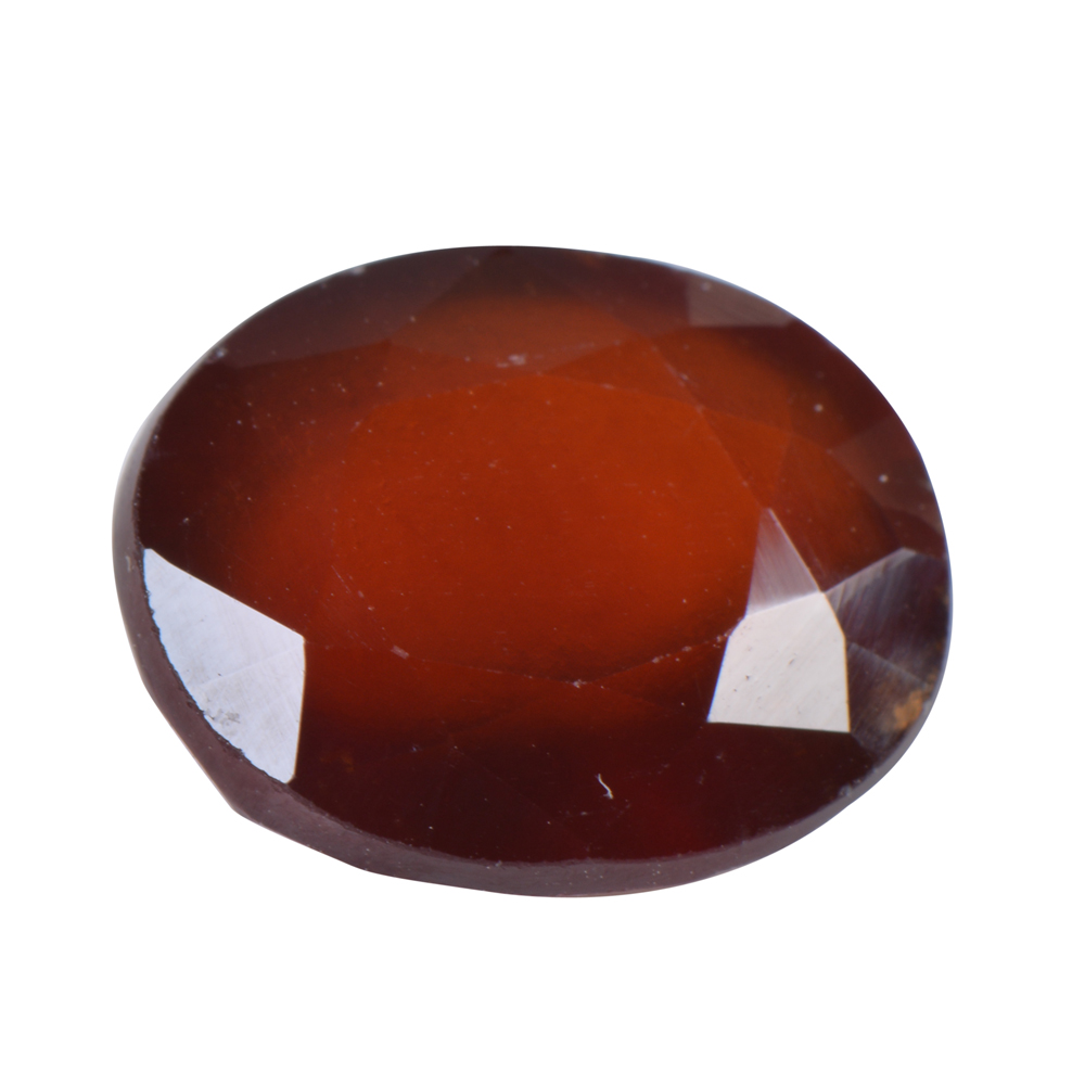 7.9 Ct Certified Natural Hessonite Garnet (Gomed) Loose Gemstone