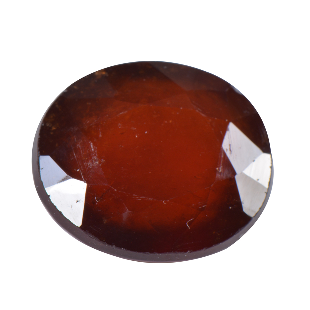 12.02 Ct Certified Natural Hessonite Garnet (Gomed) Loose Gemstone