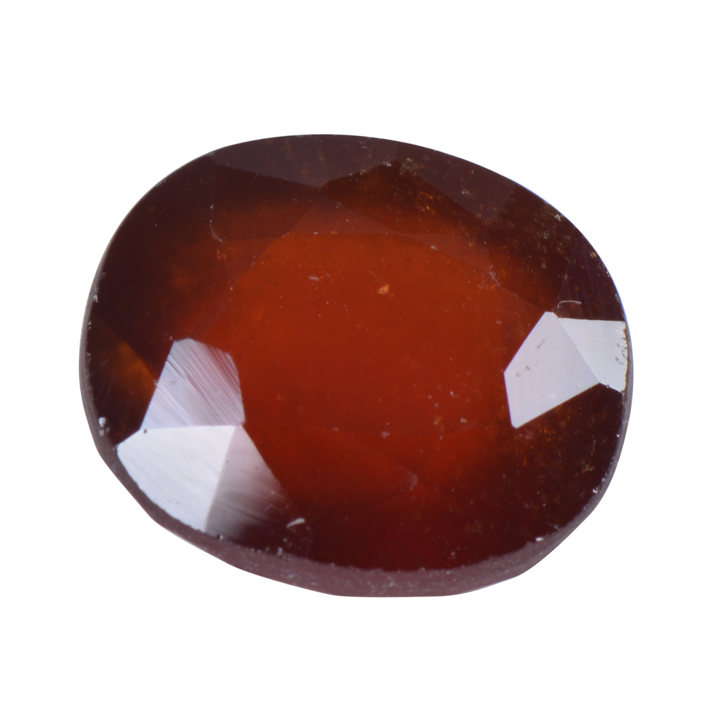 10.61 Ct Certified Natural Hessonite Garnet (Gomed) Loose Gemstone