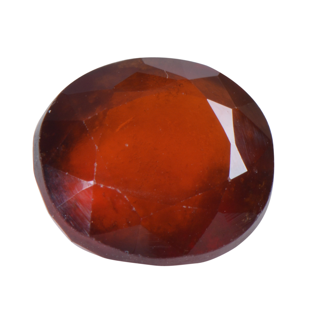 6.24 Ct Certified Natural Hessonite Garnet (Gomed) Loose Gemstone
