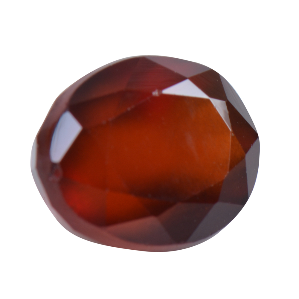 5.07 Ct Certified Natural Hessonite Garnet (Gomed) Loose Gemstone