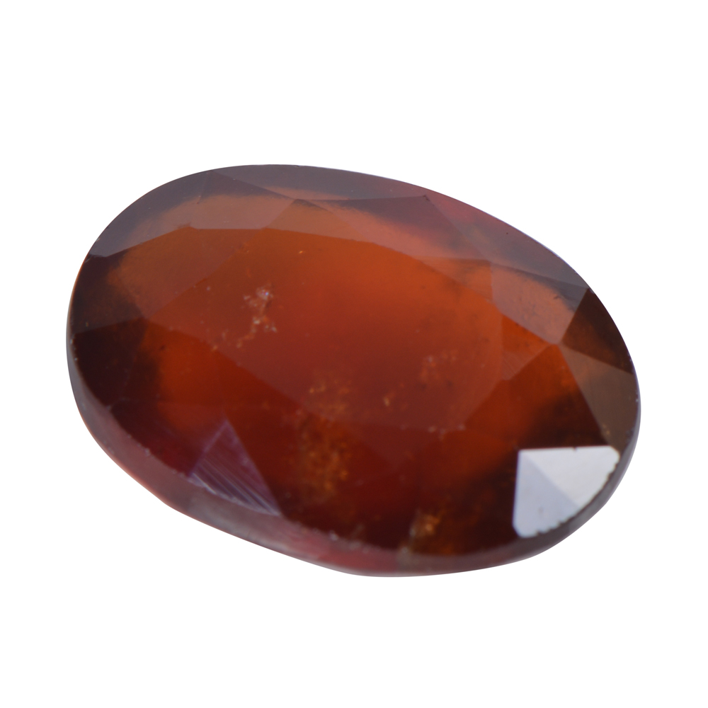 6.71 Ct Certified Natural Hessonite Garnet (Gomed) Loose Gemstone