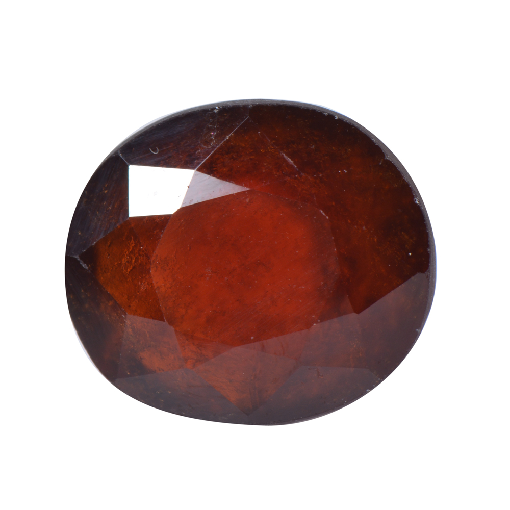 8.71 Ct Certified Natural Hessonite Garnet (Gomed) Loose Gemstone