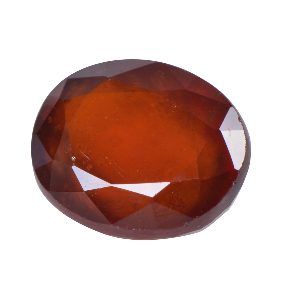 5.37 Ct Certified Natural Hessonite Garnet (Gomed) Loose Gemstone