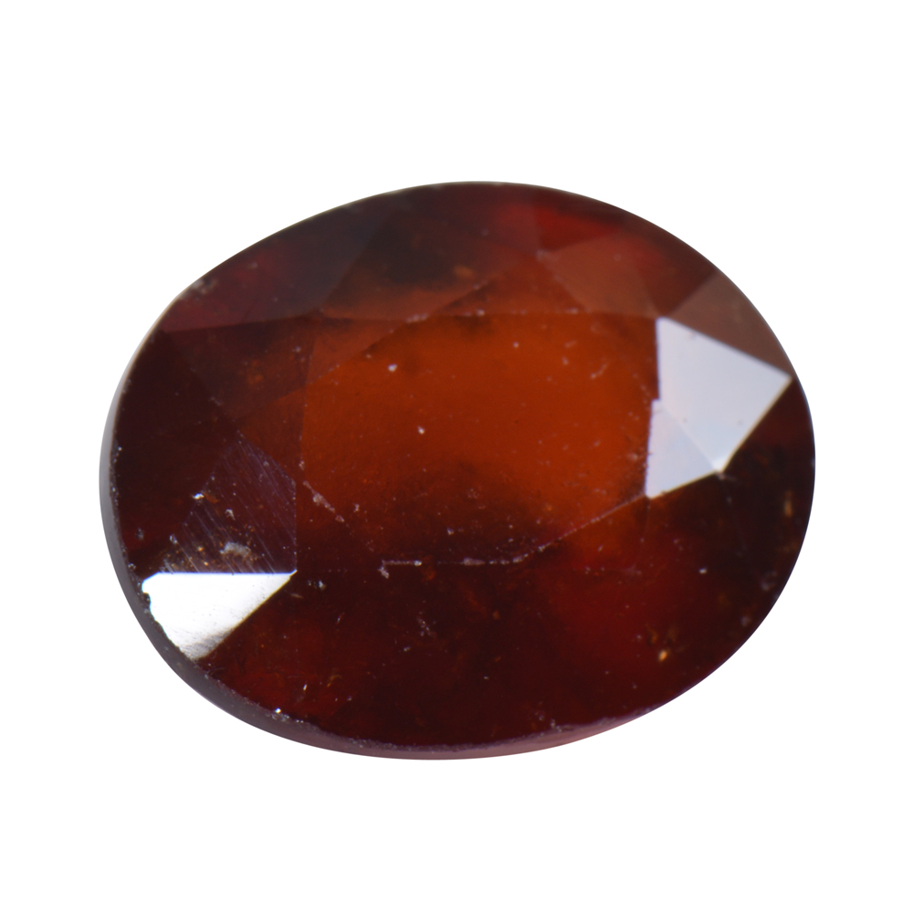 8.87 Ct Certified Natural Hessonite Garnet (Gomed) Loose Gemstone