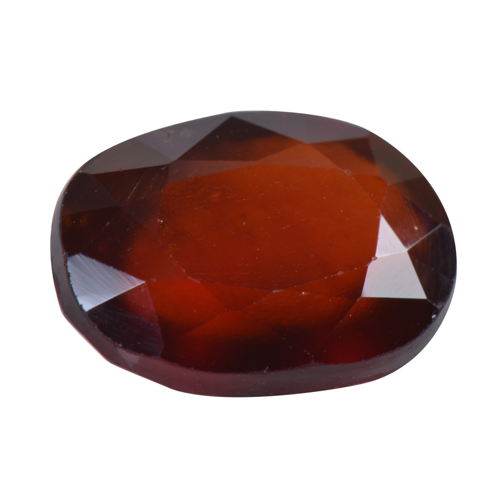 7.46 Ct Certified Natural Hessonite Garnet (Gomed) Loose Gemstone