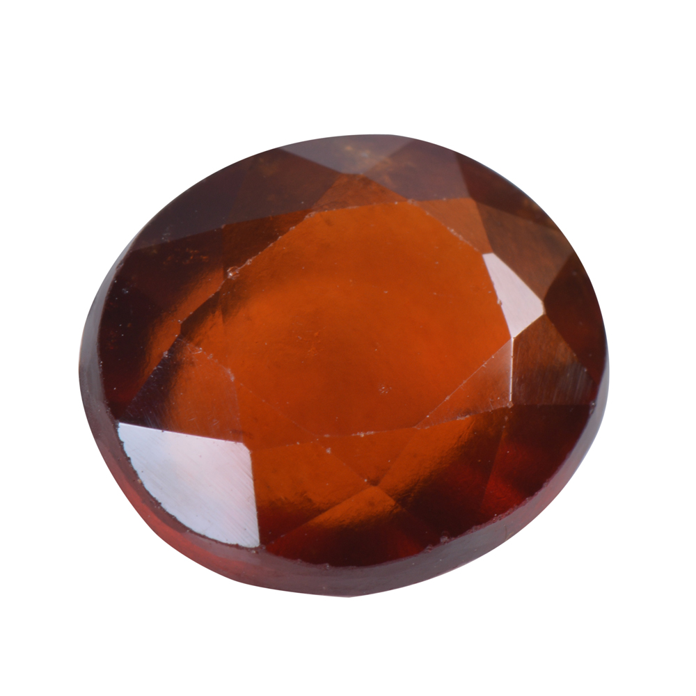 4.89 Ct Certified Natural Hessonite Garnet (Gomed) Loose Gemstone