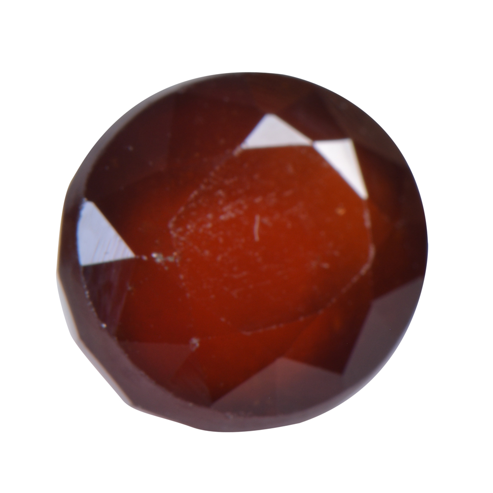 9.07 Ct Certified Natural Hessonite Garnet (Gomed) Loose Gemstone