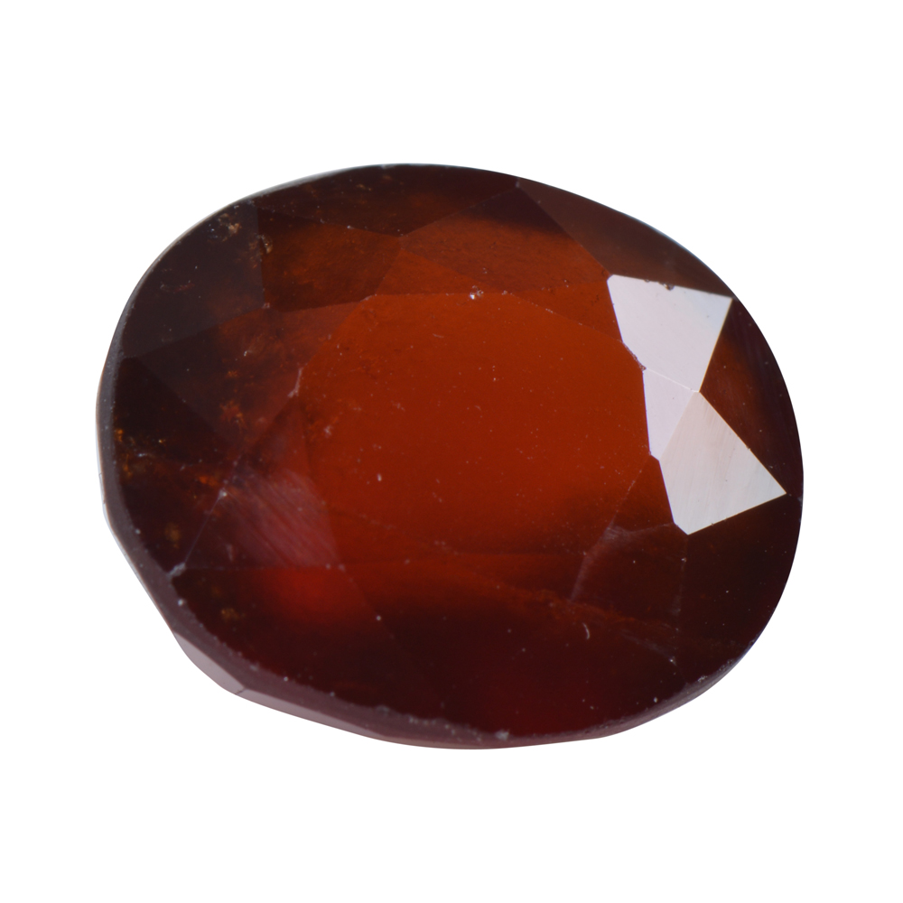 8.62 Ct Certified Natural Hessonite Garnet (Gomed) Loose Gemstone