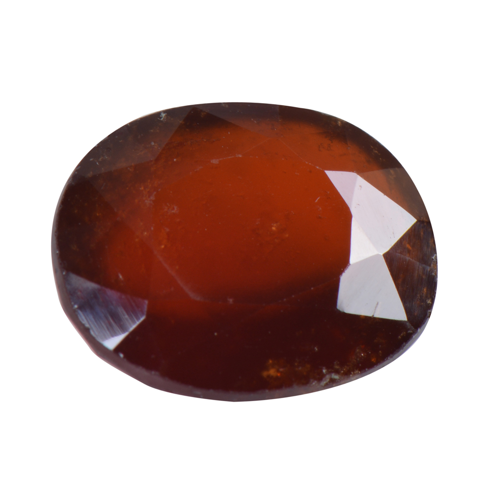 8.26 Ct Certified Natural Hessonite Garnet (Gomed) Loose Gemstone