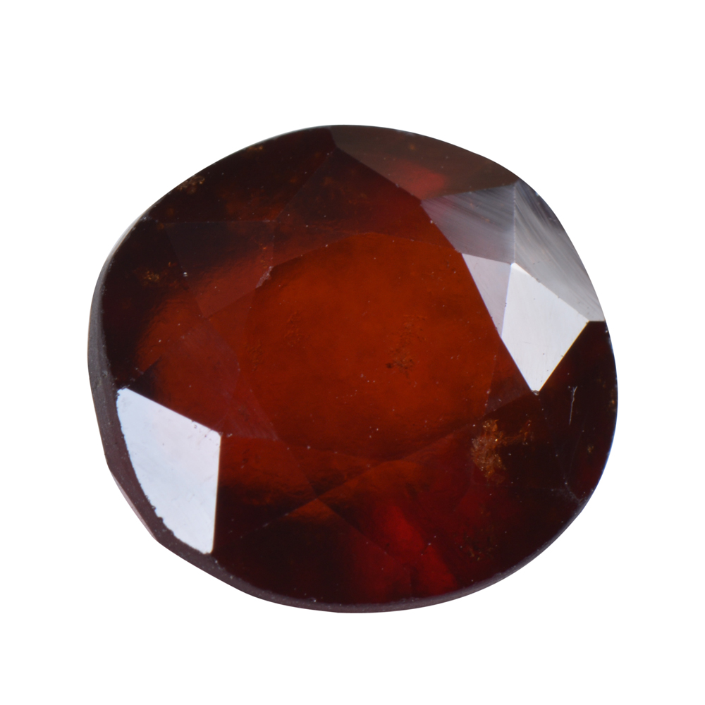 9.63 Ct Certified Natural Hessonite Garnet (Gomed) Loose Gemstone