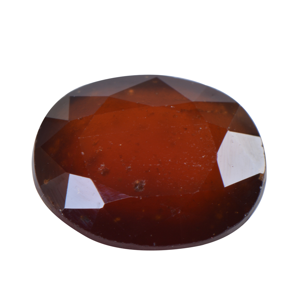 9.03 Ct Certified Natural Hessonite Garnet (Gomed) Loose Gemstone