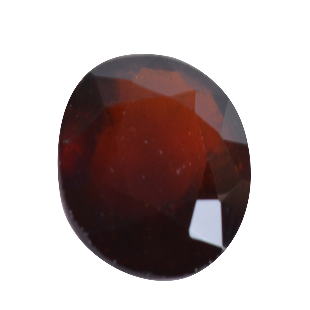 7.07 Ct Certified Natural Hessonite Garnet (Gomed) Loose Gemstone