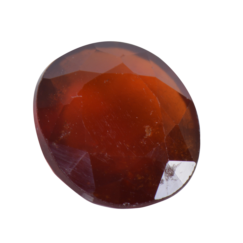 7.16 Ct Certified Natural Hessonite Garnet (Gomed) Loose Gemstone
