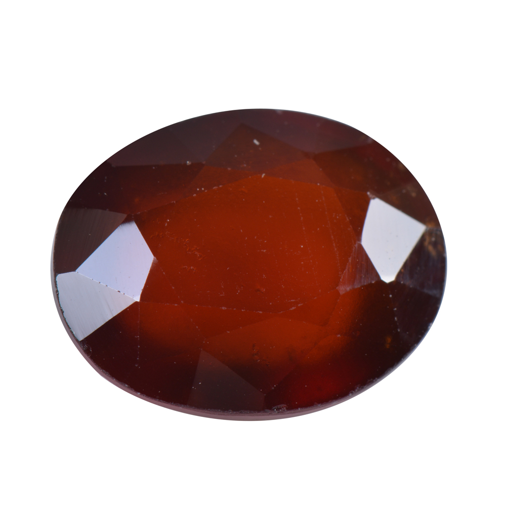 8.13 Ct Certified Natural Hessonite Garnet (Gomed) Loose Gemstone