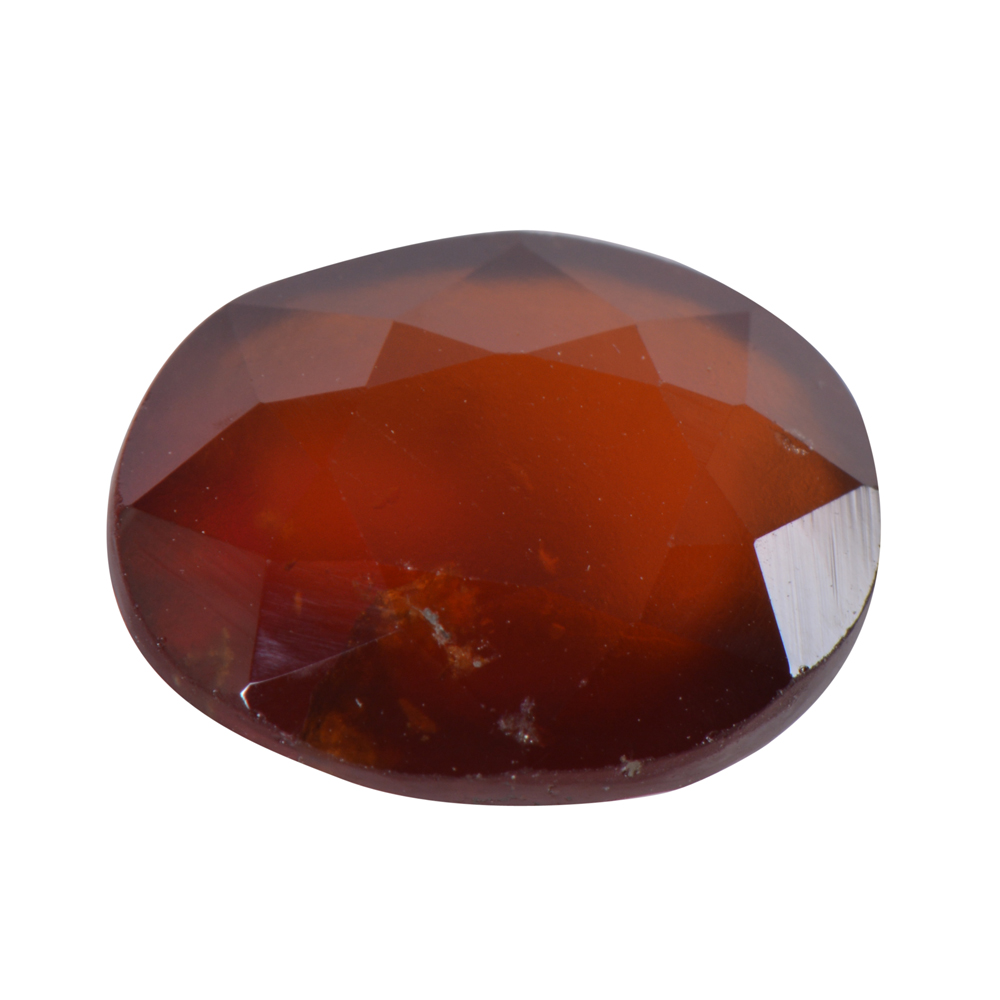 6.34 Ct Certified Natural Hessonite Garnet (Gomed) Loose Gemstone