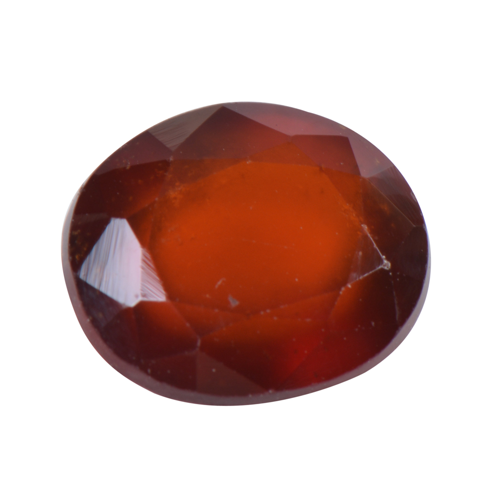 6.31 Ct Certified Natural Hessonite Garnet (Gomed) Loose Gemstone