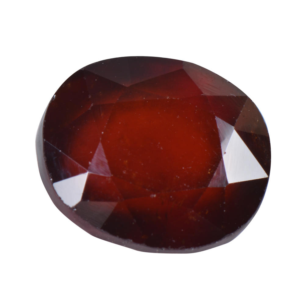 8.52 Ct Certified Natural Hessonite Garnet (Gomed) Loose Gemstone