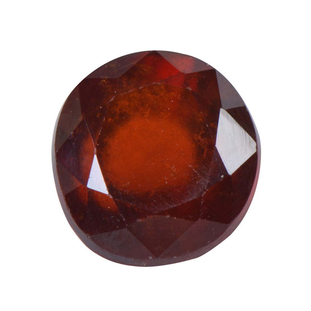 5.88 Ct Certified Natural Hessonite Garnet (Gomed) Loose Gemstone