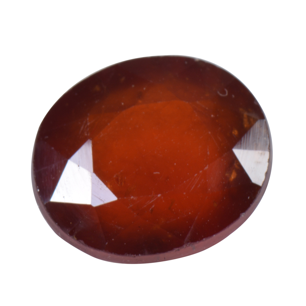 11.68 Ct Certified Natural Hessonite Garnet (Gomed) Loose Gemstone