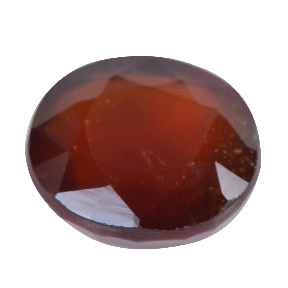 10.85 Ct Certified Natural Hessonite Garnet (Gomed) Loose Gemstone