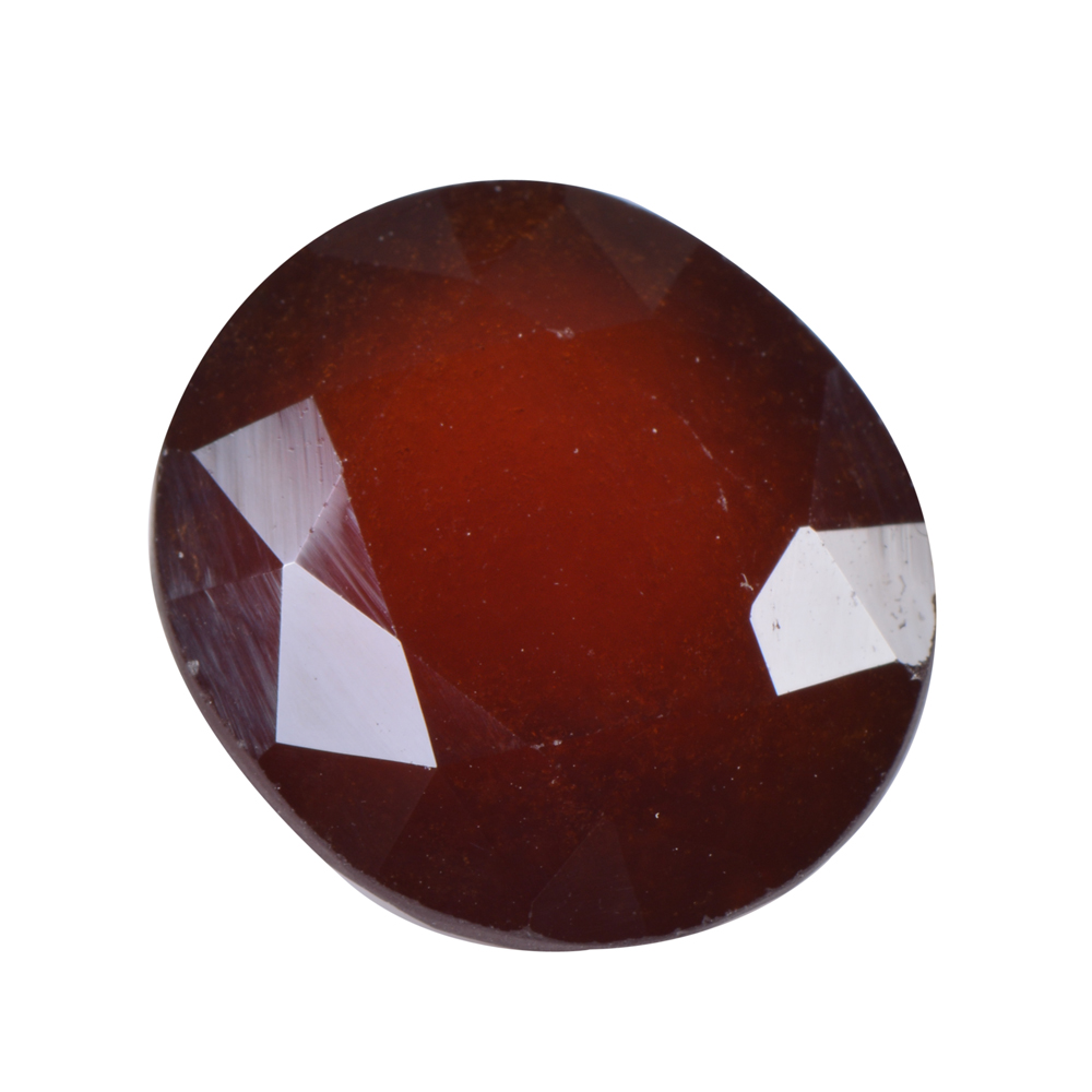 12.12 Ct Certified Natural Hessonite Garnet (Gomed) Loose Gemstone
