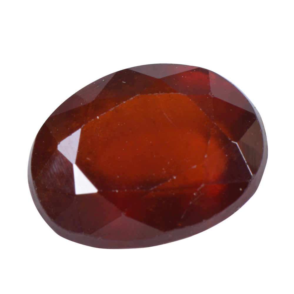 5.2 Ct Certified Natural Hessonite Garnet (Gomed) Loose Gemstone