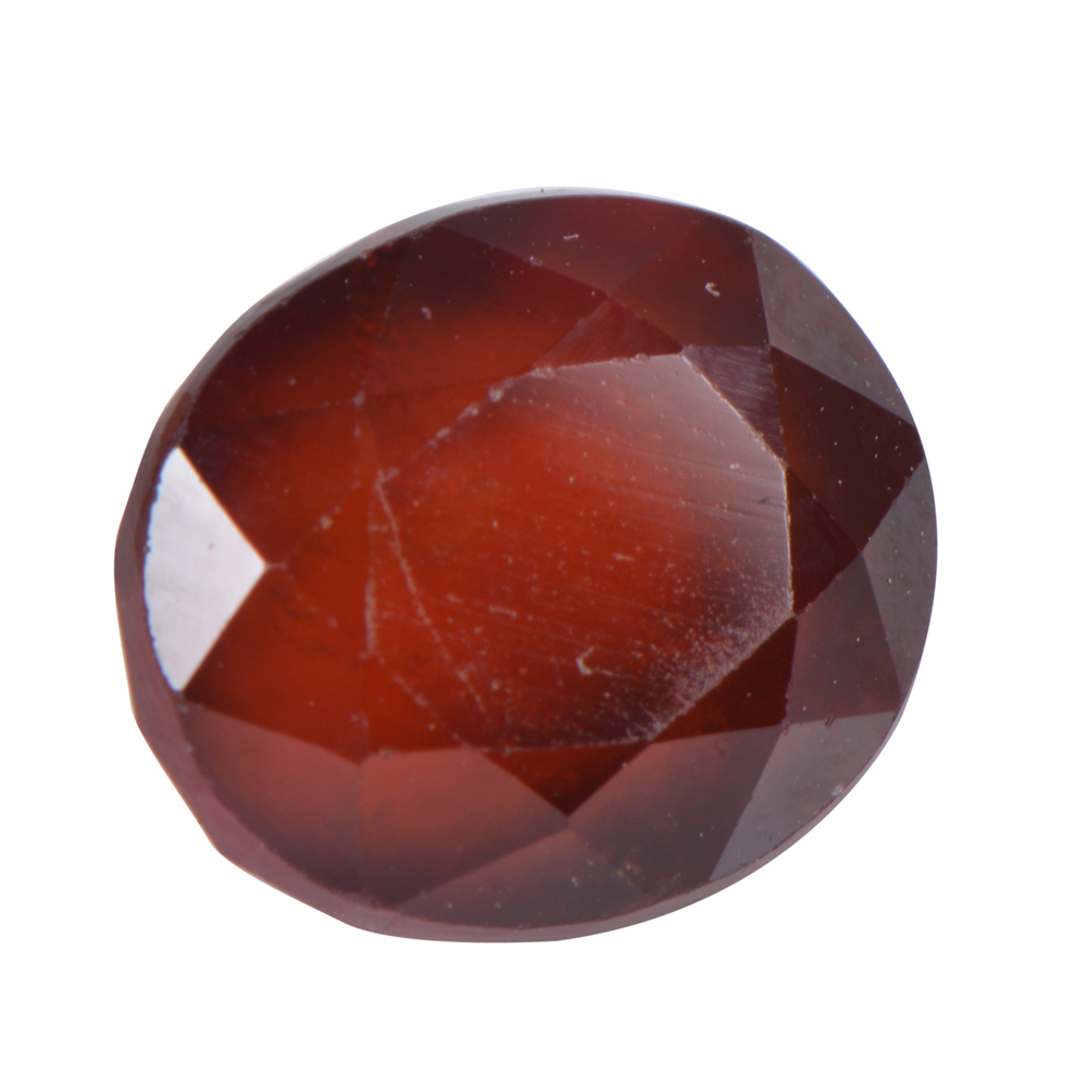 6.28 Ct Certified Natural Hessonite Garnet (Gomed) Loose Gemstone