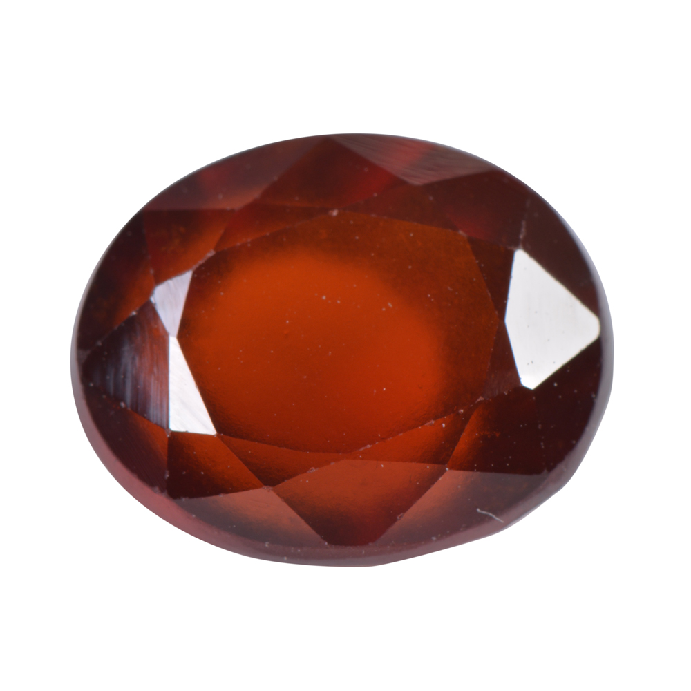5.32 Ct Certified Natural Hessonite Garnet (Gomed) Loose Gemstone