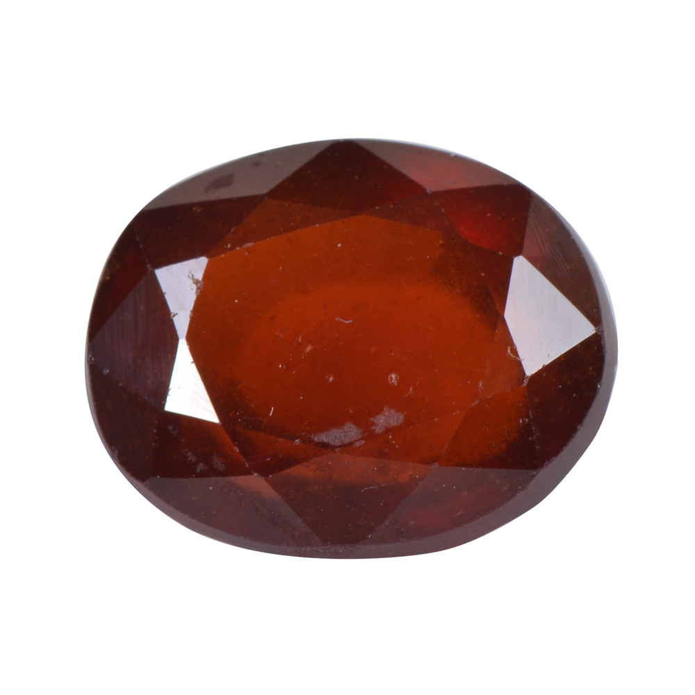 5.39 Ct Certified Natural Hessonite Garnet (Gomed) Loose Gemstone