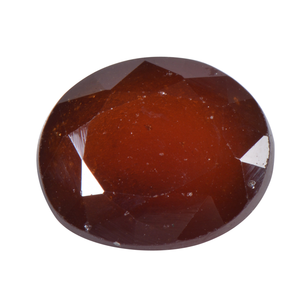 6.2 Ct Certified Natural Hessonite Garnet (Gomed) Loose Gemstone