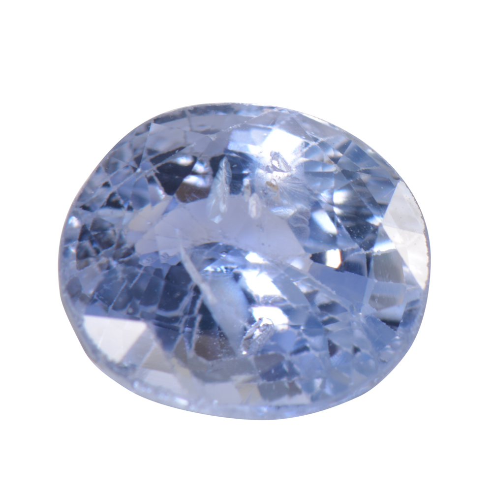5.82 Cts Certified Natural Blue Sapphire / Neelam Loose Gemstone