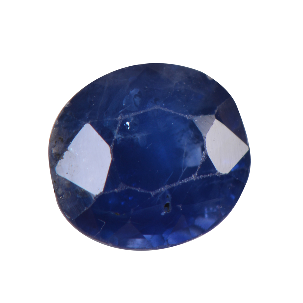 1.61 Cts Certified Natural Blue Sapphire / Neelam Loose Gemstone