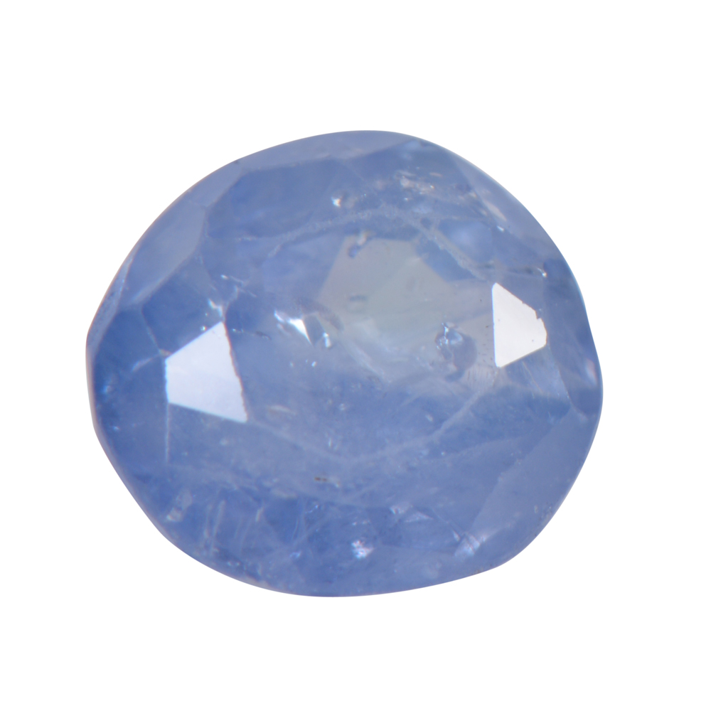 1.58 Cts Certified Natural Blue Sapphire / Neelam Loose Gemstone