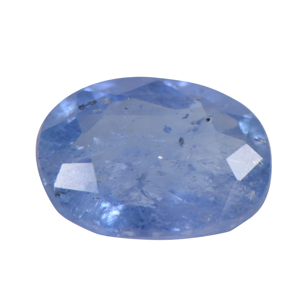 1.36 Cts Certified Natural Blue Sapphire / Neelam Loose Gemstone