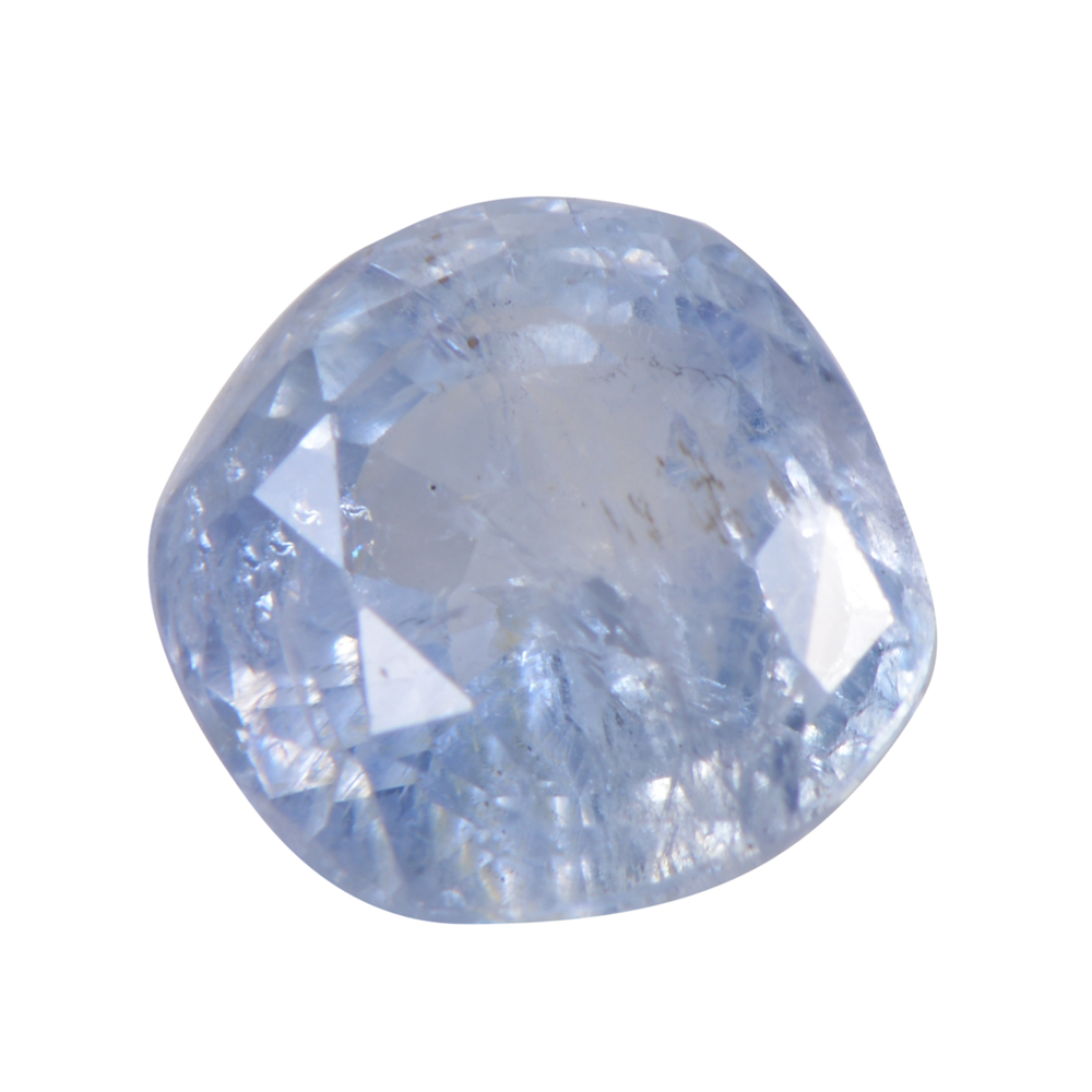 2.51 Cts Certified Natural Blue Sapphire / Neelam Loose Gemstone