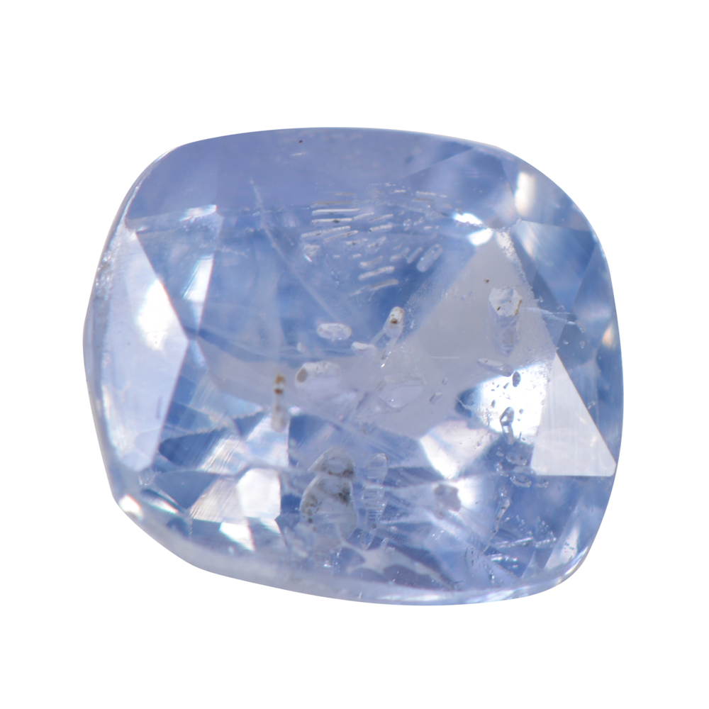 1.48 Cts Certified Natural Blue Sapphire / Neelam Loose Gemstone