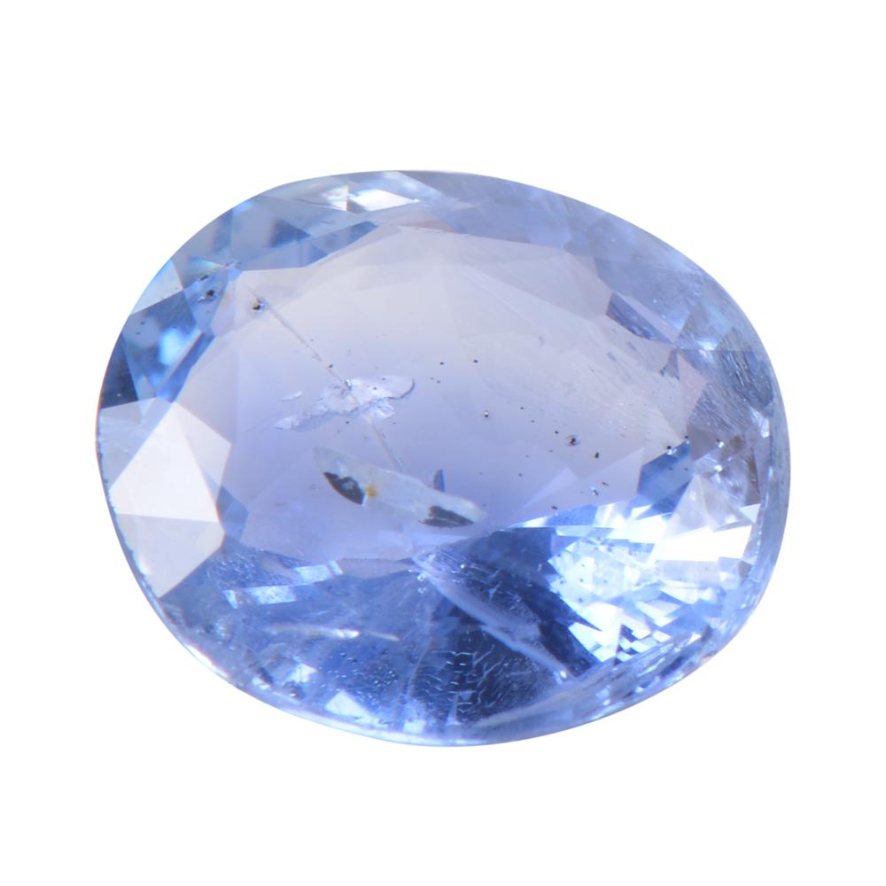 4.55 Cts Certified Ceylon Blue Sapphire / Neelam Loose Gemstone