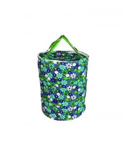 Laundry Basket blue printed