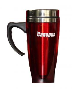 Canopus Thermal Insulated Travel Mug (Red)