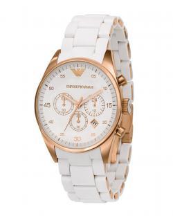 Imported Emporio Armani - AR5920 Womens Sportivo Silver Dial Watch