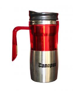 Canopus Thermal Travel Mug (Red & Silver)